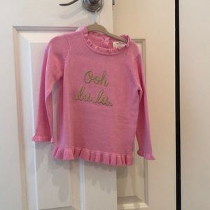 Kate Spade Ruffle Sweater